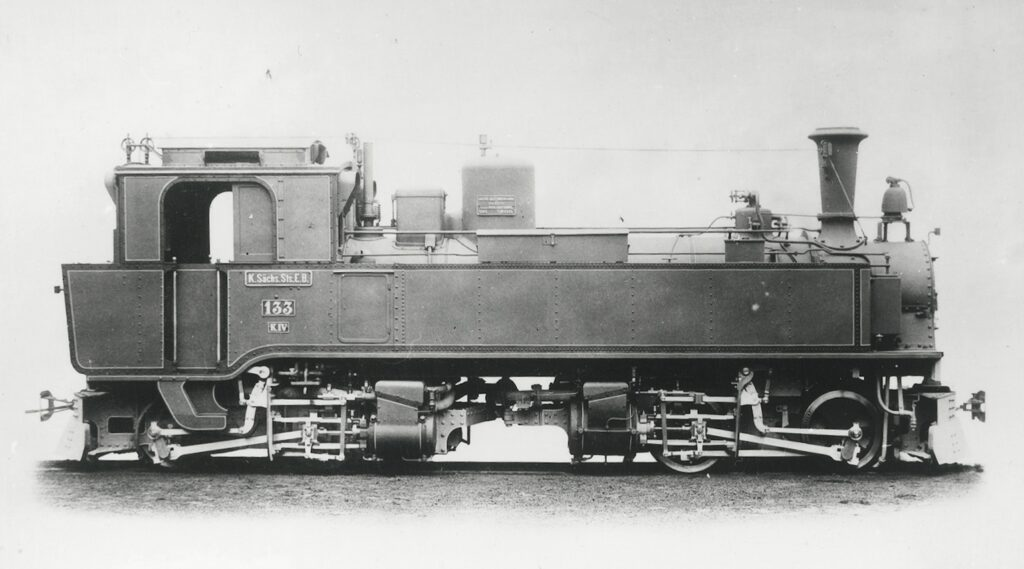 Танк-паровоз системы Гюнтер-Мейера (Günther-Meyer) серии IV K